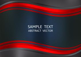 Red and Black color abstract vector background with copy space. Graphic design