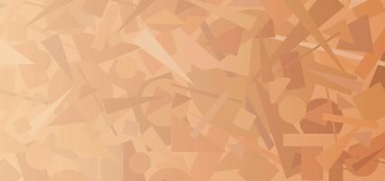 Modello di forma geometrica astratta. Figura caotica figura di fondo