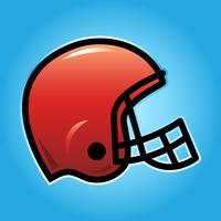 Amerikanischer Football-Helm