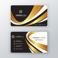 luxury elegant business card
