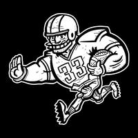 Football Player Cartoon