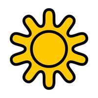 Zon pictogram