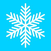 Sneeuwvlok Vector Icon