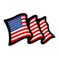 Drapeaux américains