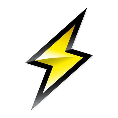 Free Lighting Bolt Vector Art