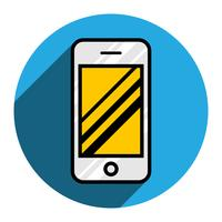 Smart phone vector icon