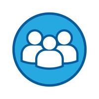 Vetor de ícone de usuário