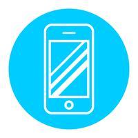 Smartphone vektorikonen