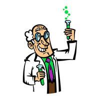 Scientist vector