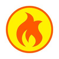 Flamme Vector Icon