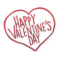 Happy Valentijnsdag hart