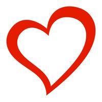 Coração, amor romântico, gráfico