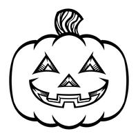 Illustration vectorielle de Jack O'Lantern