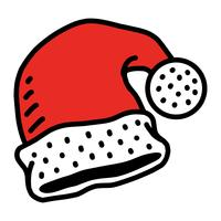 Kerstman hoed