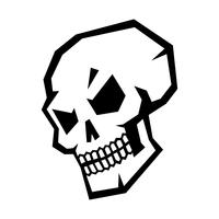 Skull graphic vector