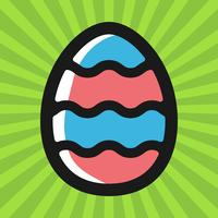 Easter Egg Vector Icon