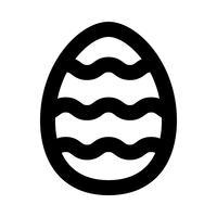 Osterei-Vektor-Symbol