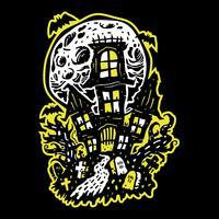 Maison hantée d'Halloween