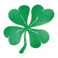 Lucky Irish Clover para el día de San Patricio vector