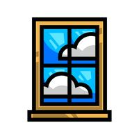Window Frame Glass Pane