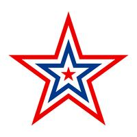 america star vector icon