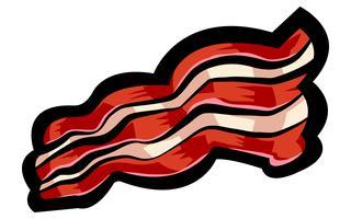 Ícone de vetor de bacon