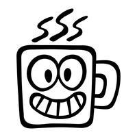 Icona di vettore di caffè bevanda