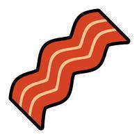 Icona di vettore di pancetta