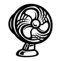 Cooling Fan vector