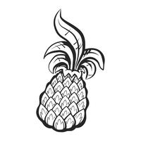 Ananas-Frucht