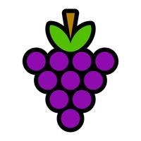 Bos van druiven Fruitvoedsel Gezonde snack