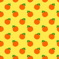 Orange fruit illustration