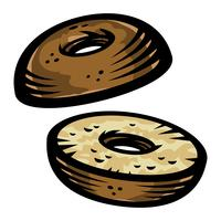 Bagel vector pictogram
