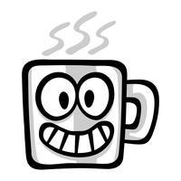 Beber café vector ícone