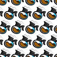Kaffekanna Hot Drink Cartoon Illustration