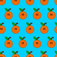 Illustration de fruits orange