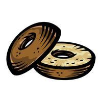 Bagel-Vektor-Symbol