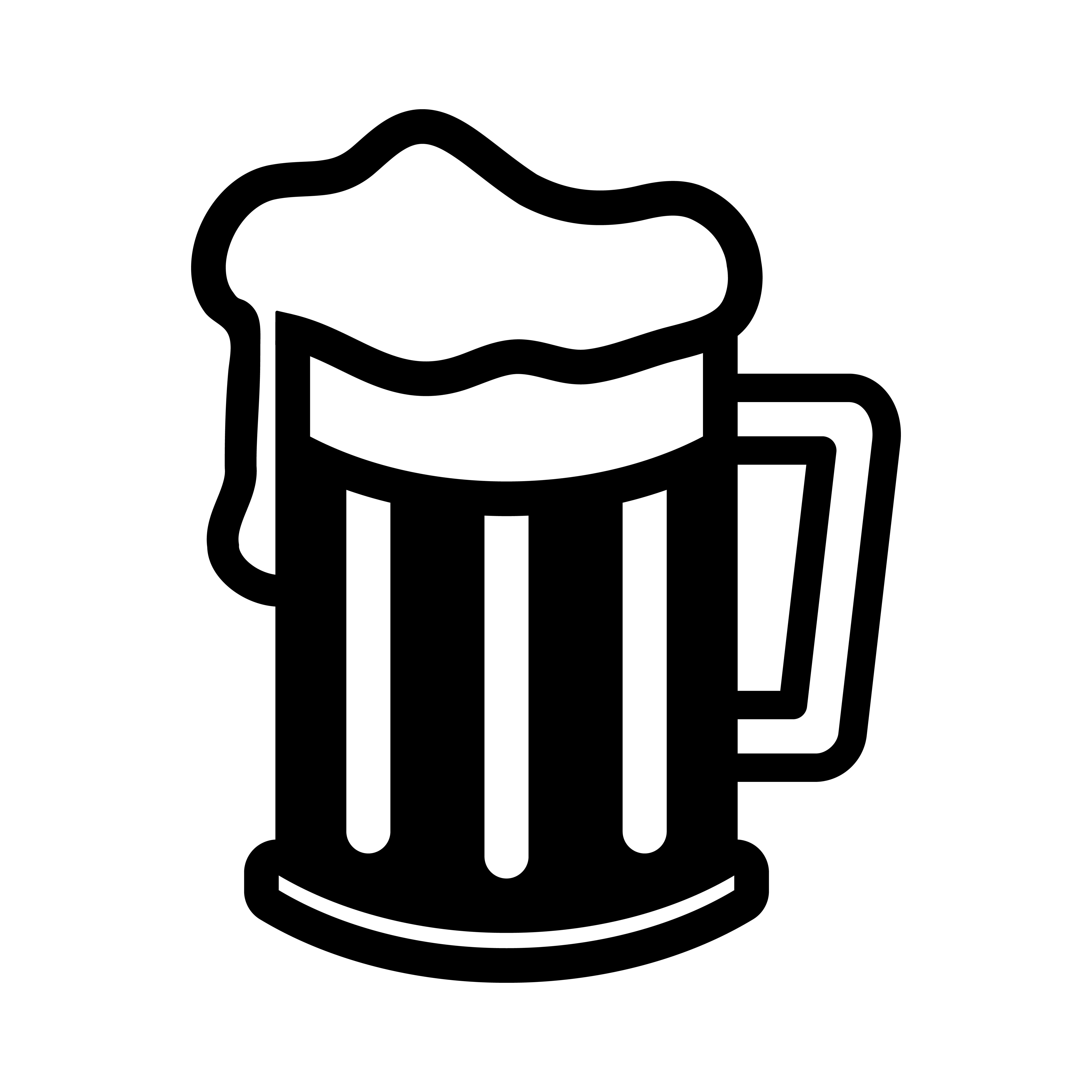 Beer Mug Vector Icon Download Free Vectors Clipart Graphics Vector Art