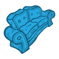 Couch vector pictogram