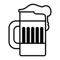 Beer Mug Vector Icon