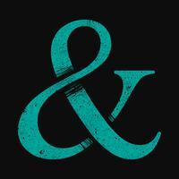 Ampersand vector pictogram