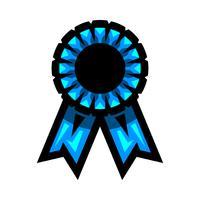 Vetor de fita de prêmio vencedor