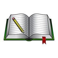 Vector de libro