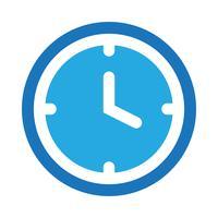 Vektor Uhrsymbol