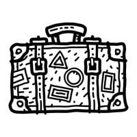 Travel Suitcase Vector Icon