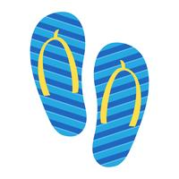 Flip Flop Shoe Vector Icon