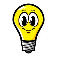 Ícone de vetor de lâmpada