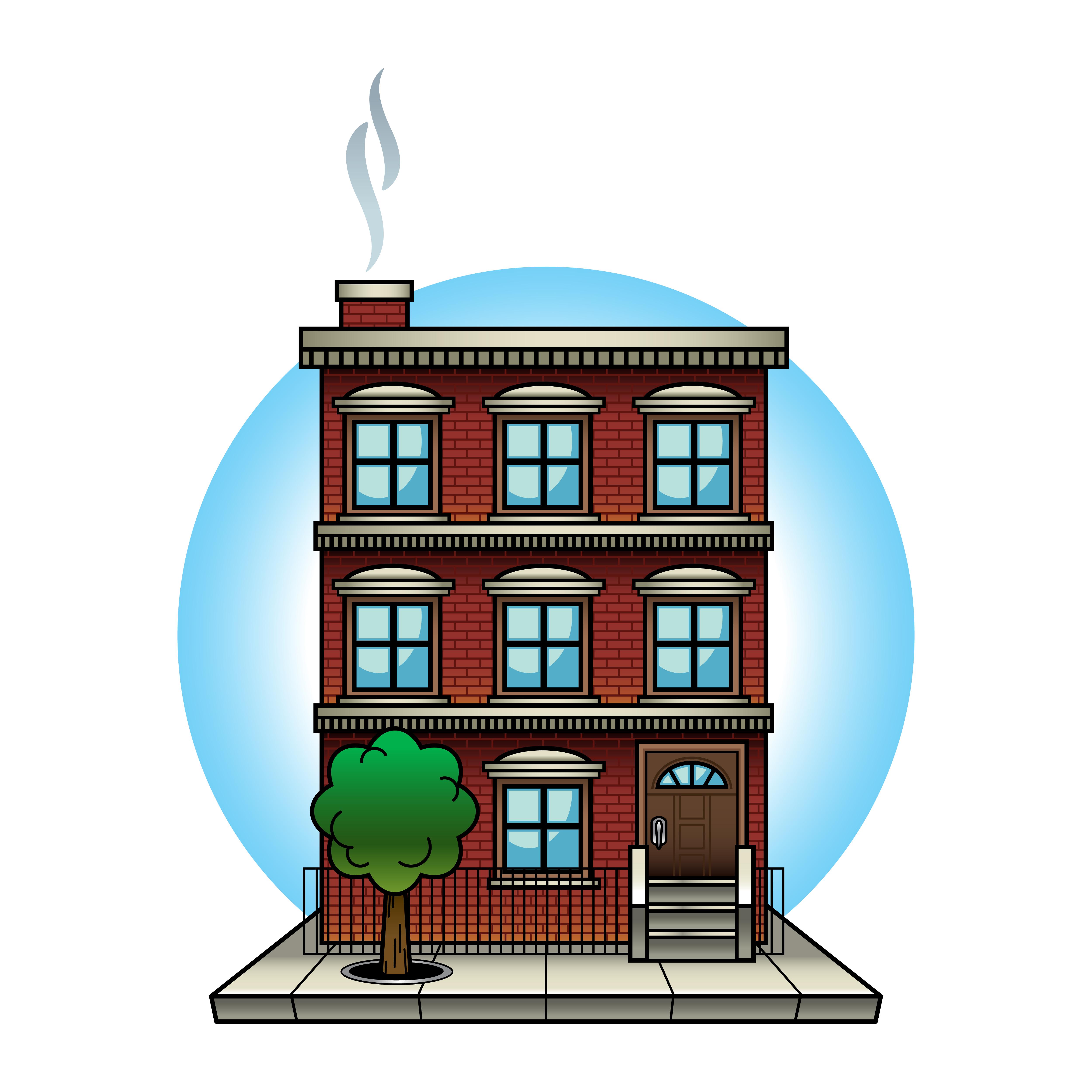Apartment Complex Clipart Business Building - Png Download (#2862969) -  PinClipart