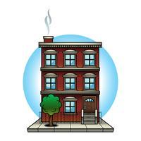 Appartementengebouw vector