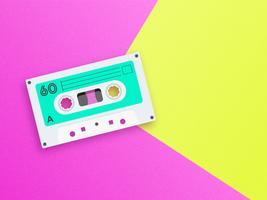 Old School Music Pop Background